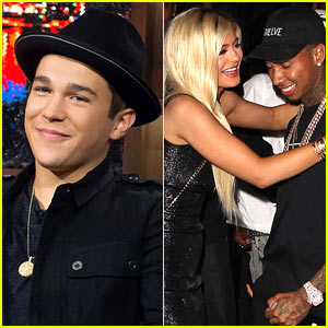 Austin Mahone Says Kylie Jenner Crashed Her Ferrari