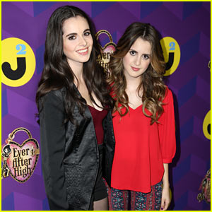 Vanessa & Laura Marano Make It to 'Wonderland' at Just Jared's Party Presented by Ever After High!