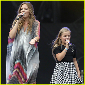 Lennon & Maisy Stella Joins Parents At Boots & Hearts Festival