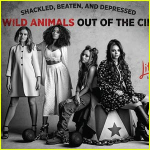 Little Mix Star in New Peta2 Ad to Help Get Wild Animals Out of the Circus
