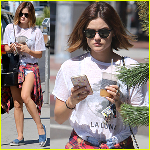Lucy Hale Shares Cute Ezria Collage On Instagram