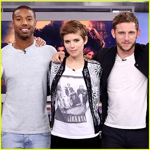 Michael B. Jordan Expertly Responds to Offensive 'Fantastic Four' Question