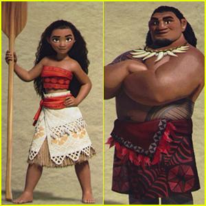 Disney Shows 'Moana' Character Pics At D23 Expo - See Them Here!
