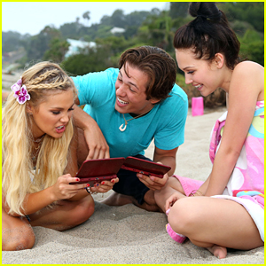 Olivia Holt Reunites With Leo Howard For Nintendo Themed 18th Birthday Beach Bash