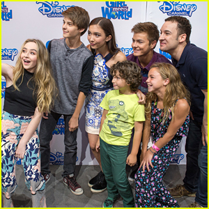 Rowan blanchard gets taken away from her fans during d23 girl meets rowan blanchard gets taken away from her fans during d23 girl meets world meet greet m4hsunfo