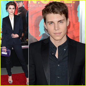 Sami Gayle Steps Out For 'The Man From U.N.C.L.E.' Premiere With Nolan Gerard Funk