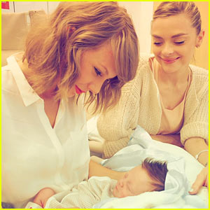 Taylor Swift Sings 'Never Grow Up' for Her Godson!