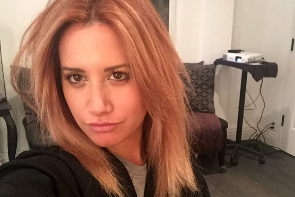 Ashley Tisdale Blogs About Hair Color Change on The Haute Mess ...