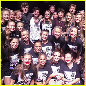 The Vamps Play Free Concert For Corner Canyon High School in Utah For Teens For Jeans Campaign