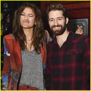 Zendaya Finds 'Neverland' With Matthew Morrison After Sole of Daya Promotion