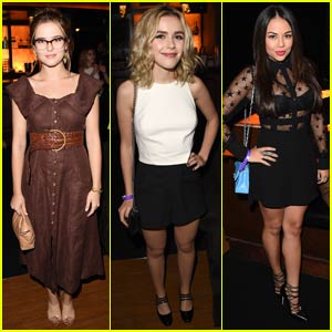 Kiernan Shipka Steps Out for Taylor Swift Concert With Zoey Deutch & Janel Parrish!
