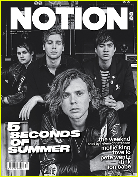 5 Seconds of Summer Talk New Album 'Sounds Good Feels Good' In 'Notion' Mag