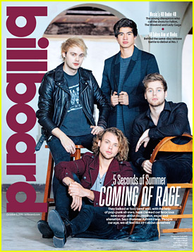 5 Seconds Of Summer Talk Singing About Real Issues With Billboard