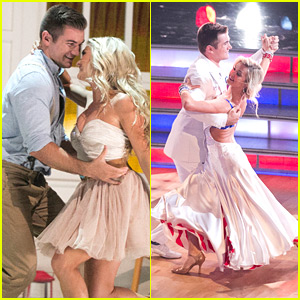 Alek Skarlatos & Lindsay Arnold Went All-American For Week #2 on DWTS