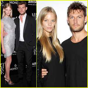 Alex Pettyfer Wears Absolutely Nothing for Mario Testino!