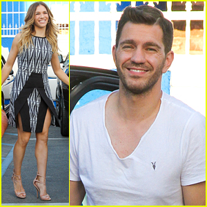 Allison Holker & Andy Grammer Set To Quickstep American Bandstand on DWTS Next Week