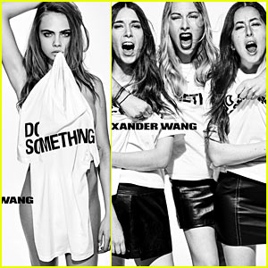 Cara Delevingne & Haim 'Do Something' for Alexander Wang's New Campaign!