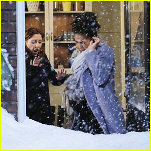 April & The Carver Family Uncover New Secrets While Stuck In A Winter Storm on 'Chasing Life'