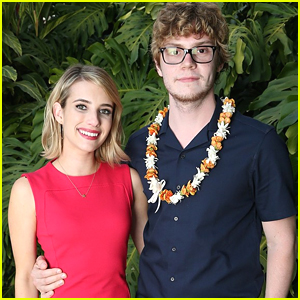 Emma Roberts Spotted Holding Hands With Ex-Fiance Evan Peters