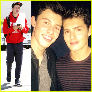 Gregg Sulkin Meets Shawn Mendes & We're Convinced They're Long Lost Brothers, Cousins or Something