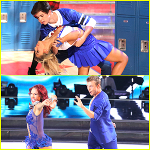 Hayes Grier & Nick Carter: Who Was Your Fave Cha Cha On The 'DWTS' Premiere?