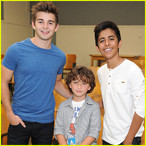 August Maturo & Karan Brar Take The 'Read To Me' Challenge With Jack Griffo