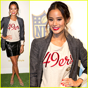 Jamie Chung Steps Out For NFL's Style Showdown in NYC