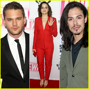 Jeremy Irvine & Joey King Bring 'Stonewall' To WeHo!