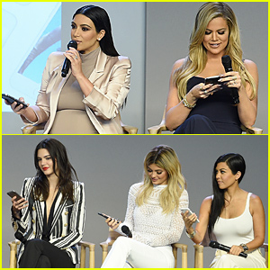 Kendall & Kylie Jenner Join Their Older Sisters for the Apple Store Event!