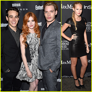 Katherine McNamara & 'Shadowhunters' Cast Hit Toronto Film Festival Parties With 'Heroes Reborn'