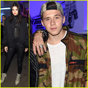 Kendall Jenner Parties with Givenchy After Walking the NYFW Show