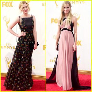 Laura Carmichael & Joanne Froggatt Bring 'Downton Abbey' To Emmy Awards 2015