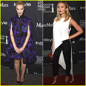 Elizabeth Olsen & Sarah Gadon Celebrate TIFF 2015 With InStyle