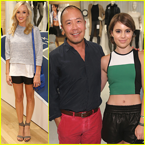 Nastia Liukin & Sami Gayle Help Derek Lam Launch His New Collection With Athleta