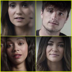 Nina Dobrev & Josh Hutcherson Take Part in 'It's On Us' PSA (Video)