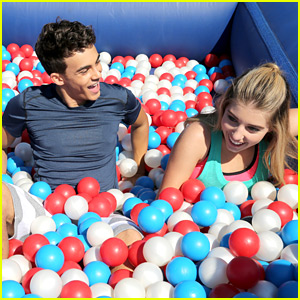 Every Witch Way's Paris Smith & Tyler Alvarez Celebrate Nickelodeon's Worldwide Day of Play