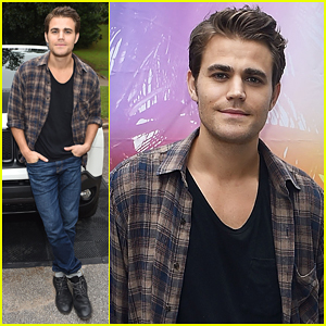 Paul Wesley Celebrates New Jeep Renegade in Atlanta!
