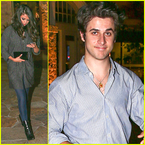 Selena Gomez Dines Out With David Henrie Before 'Revival' Fan Event