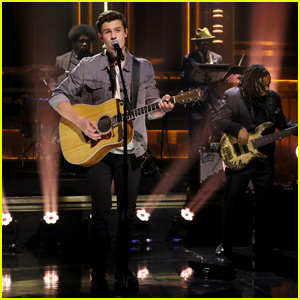 Shawn Mendes Sings 'Stitches' With The Roots on 'The Tonight Show' - Watch Now!