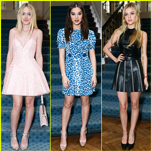 Dakota Fanning & Hailee Steinfeld Are It Girls for 'W'