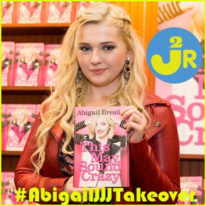 Abigail Breslin is Taking Over JJJ Tomorrow!
