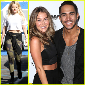 Carlos & Alexa PenaVega Hit Teen Vogue Young Hollywood Party Before Witney Carson's Engagement