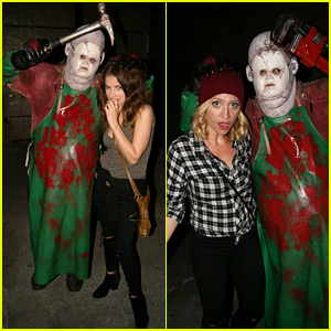 Anna Kendrick Gets In the Halloween Spirit at CreepLA!