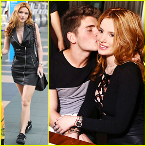 Bella Thorne Gets Birthday Kisses From Gregg Sulkin