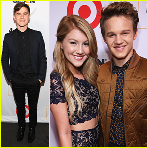 Connor Franta Speaks At GLSEN Respect Awards With Gavin MacIntosh