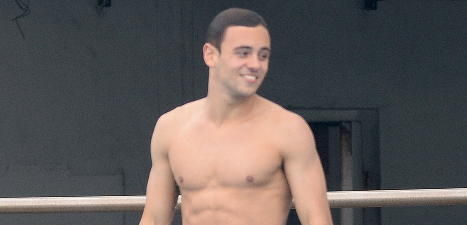 Christmas tom daley