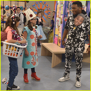 Babe & Kenzie Double Cross Double G On Tonight's 'Game Shakers' Halloween Episode (Exclusive Clip)