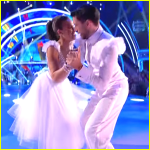 Georgia May Foote Reaches For the Stars For Her Quickstep On 'Strictly Come Dancing'