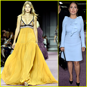 Gigi Hadid Takes the Spotlight at the Giambattista Valli Show!
