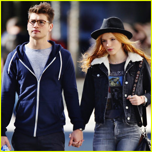 Bella Thorne & Gregg Sulkin Brave the Cold in Vancouver Before Her 18th Birthday!